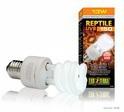 EXO TERRA Repti Glo Compact 10.0 Compact Fluorescent Bulbs - żarówka dla gadów tropikalnych