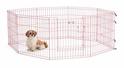 MIDWEST Life Stages Kojec- Zagroda dla psa, różowa, panele 61x61cm, drzwiczki