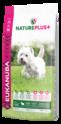 EUKANUBA Natureplus+ Adult small breed - karma dla psa bogata w świeżo mrożoną jagnięcinę