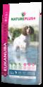 EUKANUBA Natureplus+ Adult Medium Breed - karma dla psa bogata w świeżo mrożonego łososia
