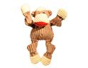 HUGGLE HOUNDS – pluszowa zabawka z piszczałkami dla psa, małpa