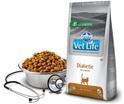 FARMINA Vet Life Diabetic naturalna karma weterynaryjna dla kotów chorych na cukrzycę 400g i 2kg
