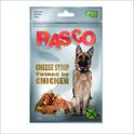 RASCO Patyczki serowe z mięsem kurczaka - Naturalny przysmak dla psa, 80g