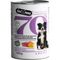 HAU&MIAU 70% Mokra karma dla psa - jagnięcina z kaszą jaglaną 400g