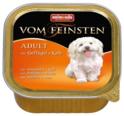 ANIMONDA Vom Feinsten Classic Drób + Cielęcina- karma dla dorosłego psa, szalka 150g