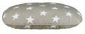 TRIXIE Owalna poduszka Stars dla psa, kolor szarobrązowy