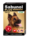SABUNOL PLUS Obroża przeciw kleszczom i pchłom dla psa, 75cm