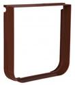 TRIXIE Element rozszerzający do drzwi dla kota, kolor brązowy