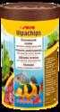 SERA Vipachips - Pokarm podstawowy w postaci tonących chipsów dla zwierząt strefy dennej