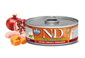 FARMINA N&D Pumpkin Chicken & Pomegranate mokra karma dla kota, puszka 80g