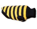 AMI PLAY Sweter Glasgow - ubranko dla psa w żółto czarne paski