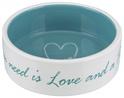 TRIXIE Ceramiczna miska Pet's Home, jasnoniebieska