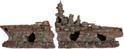 TRIXIE Wrak statku, 2 części - Ozdoba do akwarium, 70 cm