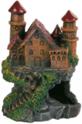 TRIXIE Zamek na skale - Ozdoba do akwarium, 13 cm