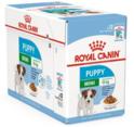 ROYAL CANIN Mini Puppy Pakiet 12 szt. - Mokra karma dla szczeniąt ras małych, Saszetka 85 g