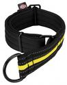 TRIXIE Fusion obroża zaciskowa - odblaskowa obroża behawioralna dla psa, kolor czarno-żółty