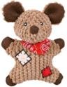 TRIXIE Pluszowa Mysz - zabawka dla psa, 19 cm