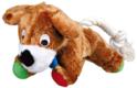 TRIXIE Pluszowy Piesek - zabawka dla psa, 17 cm