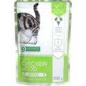 NATURE'S PROTECTION Chicken&Cod Adult Urinary mokra karma dla kota 100g