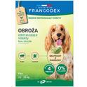FRANCODEX - obroża odstraszająca insekty dla psów ras średniej wielkości (od 10 do 20 kg), 60 cm