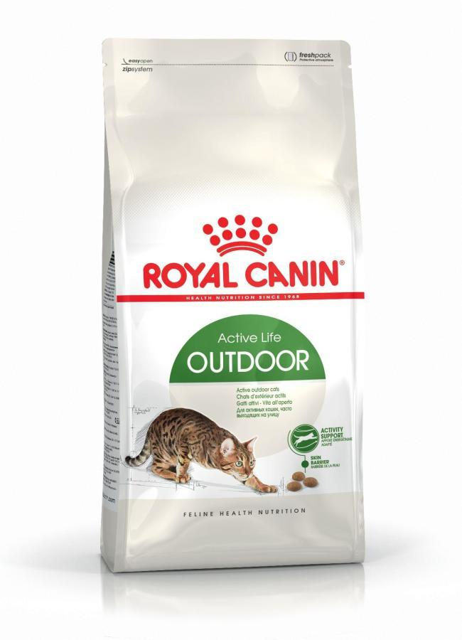 ROYAL CANIN Outdoor - karma dla kotów aktywnych i wychodzących