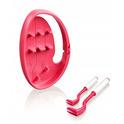 Tick Twister Clip Box - kleszczołapki, zestaw 2 szt (małe i duże) w pudełeczku, kolor różowy