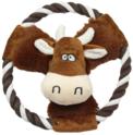 PET NOVA Krowa - pluszowa zabawka dla psa, 20 cm