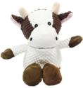 PET NOVA Krowa - pluszowa zabawka dla psa, 32 cm