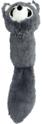 PET NOVA Lis szary - pluszowa zabawka dla psa, 41 cm