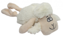 PET NOVA Biała owca - pluszowa zabawka dla psa, 35 cm