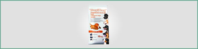 karma Tropi Dog dla psów średnich i dużych