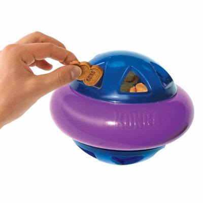 Piłka na smakołyki kong